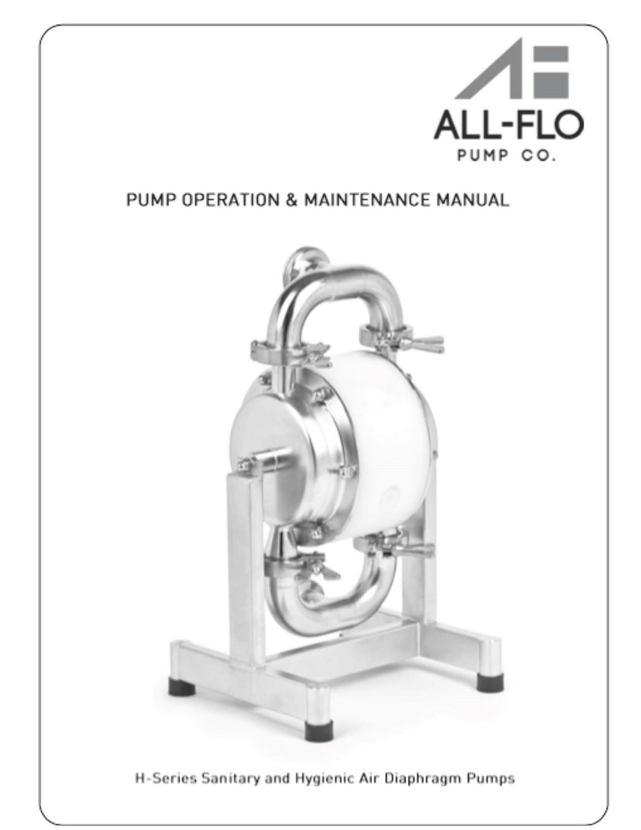 H series sanitary and hygienic air diaphragm pumps ecolink engineering ccuart Images